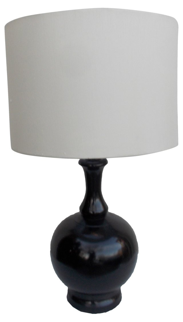 Black Tole Lamp