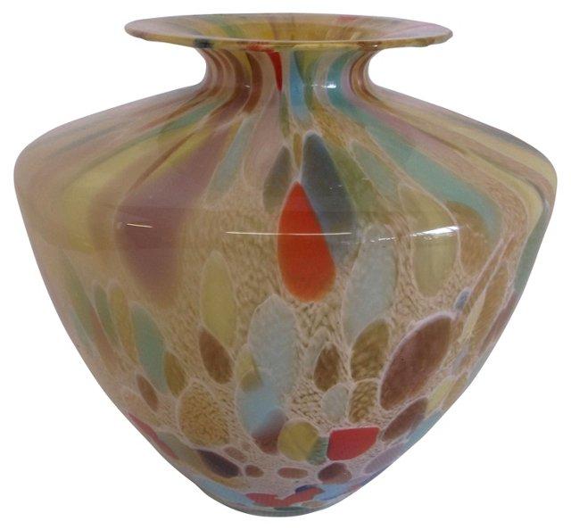 Italian Art Glass Vase