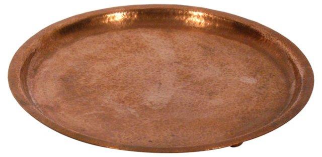 Round Copper Tray