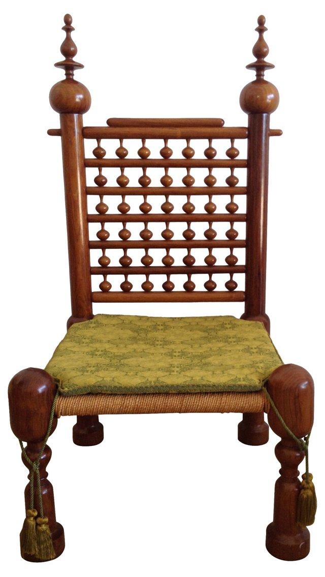 Moroccan Wedding Chair
