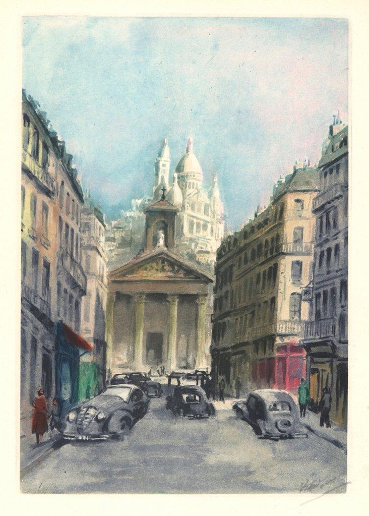 Montmartre, Paris Scene