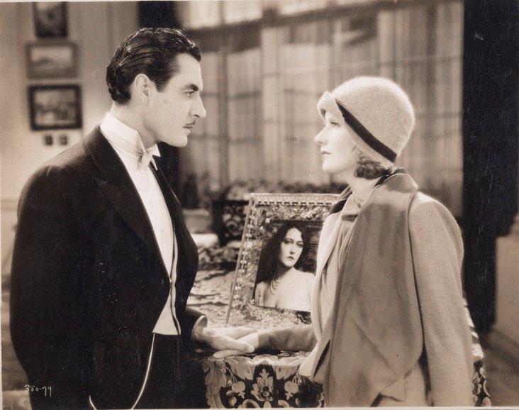 Greta Garbo in a Woman of Affairs