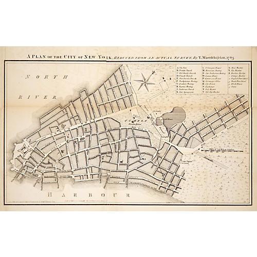 British Plan for New York City