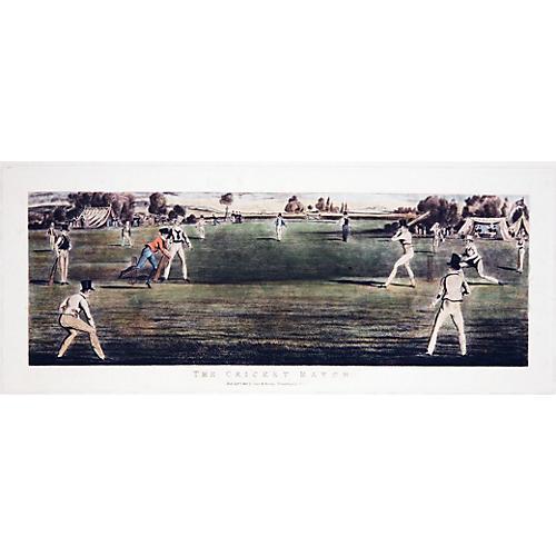 British Cricket Match