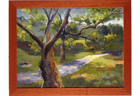 Central Park Tree by Rachel Newman