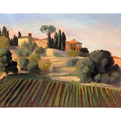 Peaceful Landscape, Murlo, Tuscany