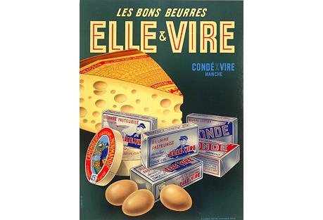 Camembert, Gruyere, French Butter & Eggs