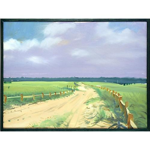 Winding Road Landscape