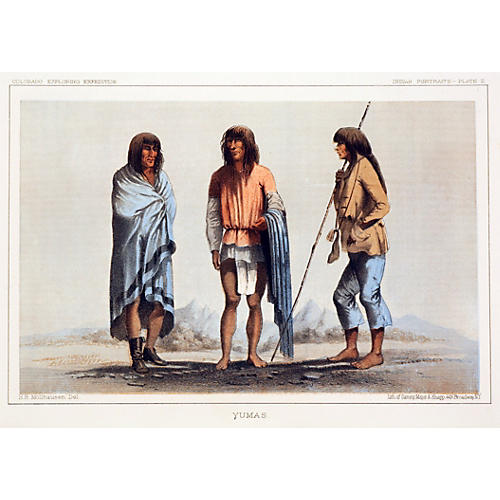 Three Native Americans