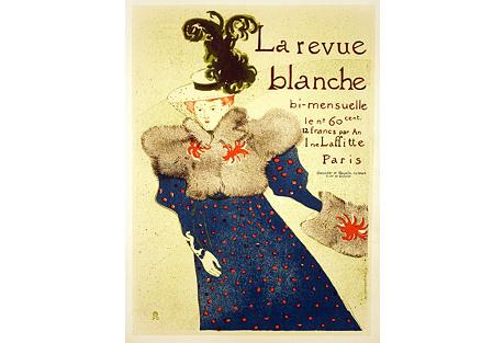 Loutrec's La Revue Blanche Poster