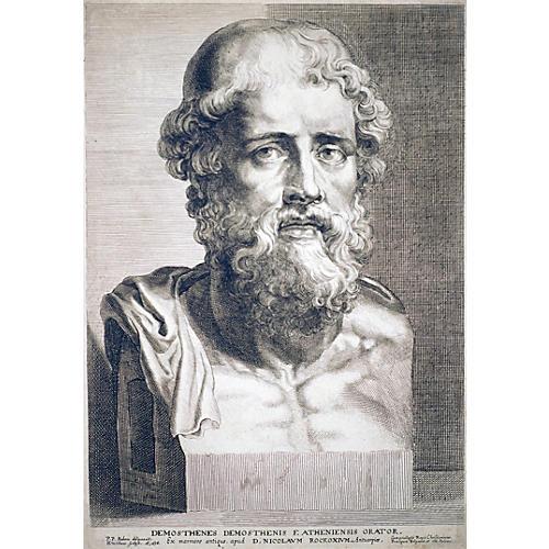 Demosthenes by Peter Paul Rubins