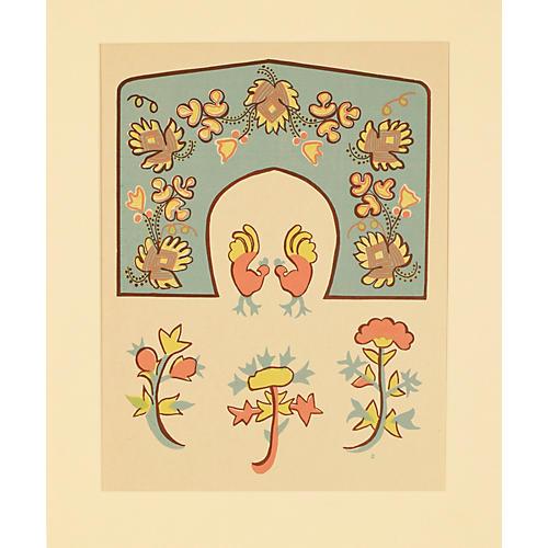American Folk Art Design 3