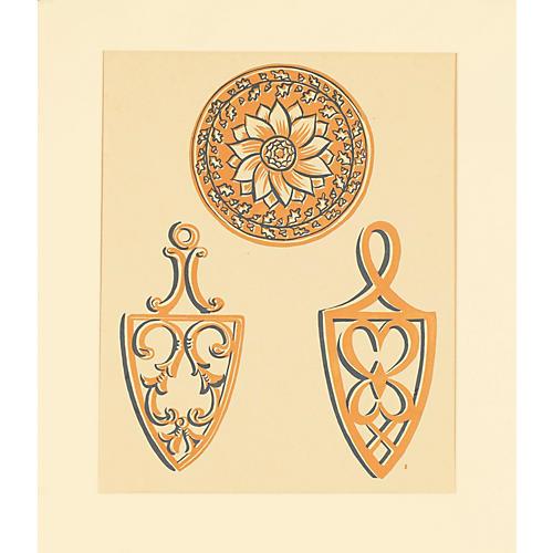 American Folk Art Design 2