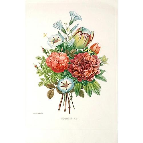 Redouté Bouquet