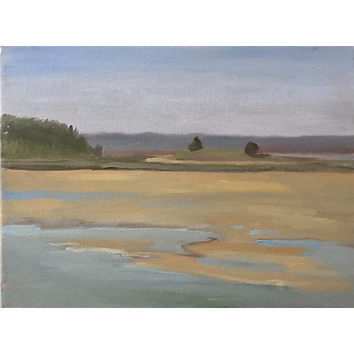 Halibut Point Plein Air Painting