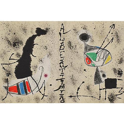 Artist-Book Linen Cover by Miró