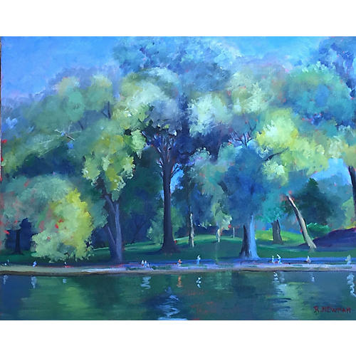 Central Park Willows