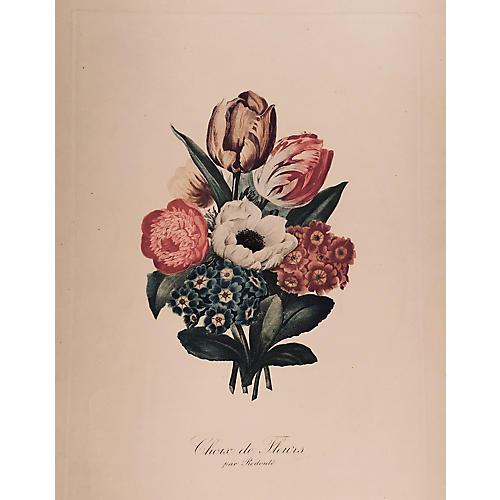 Choix de Fleur by Redouté
