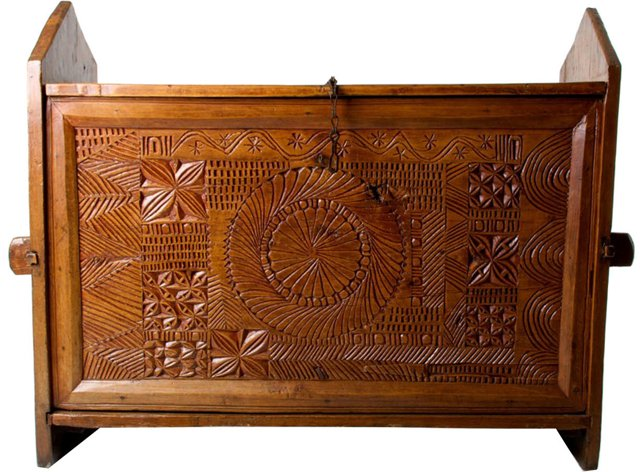 Antique Indian Trunk