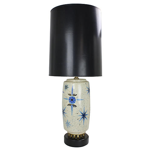 Marc Bellaire Midcentury Starburst Lamp