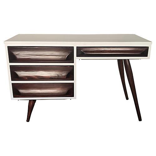 Mid-Century Mod Desk by Franklin-Shockey