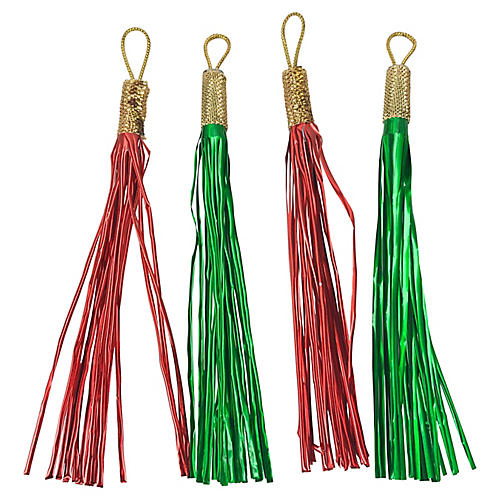 Ornament Tassels by Shiny Brite, S/36