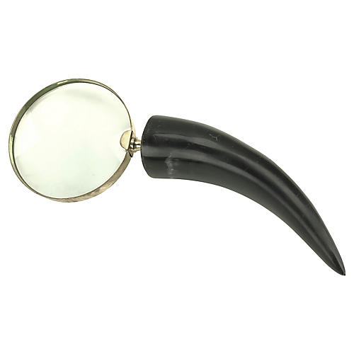 Horn-Handled Magnifying Glass