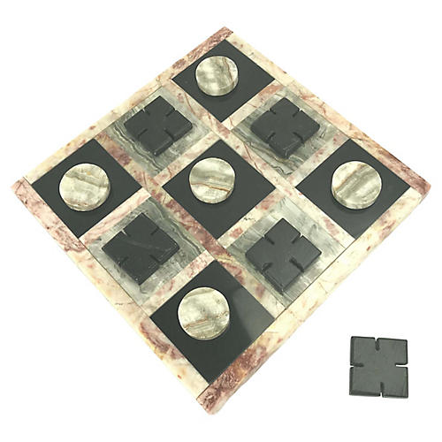 Marble Tic Tac Toe Board, S/11