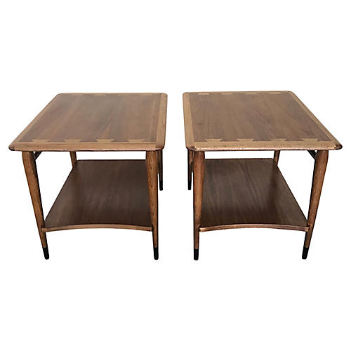 Lane Acclaim Side Tables, Pair