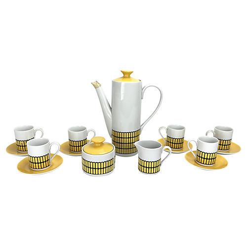Mid-Century Mod Espresso Coffee Set