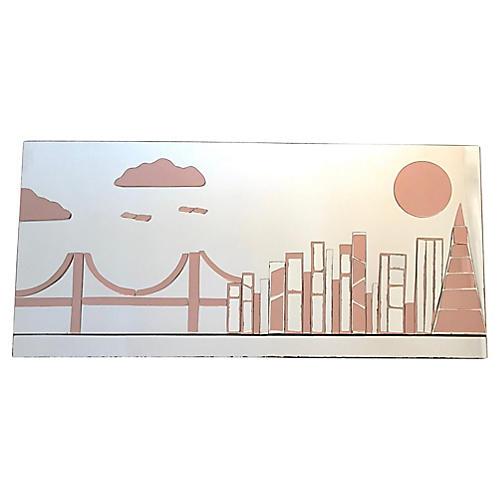 Art Wall Mirror of San Francisco