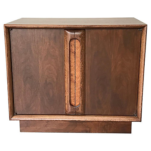 Mid-Century Modern Cabinet Nightstand