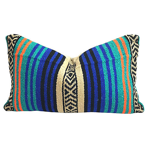 Mexican Serape Lumbar Pillow