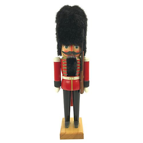 """15"""" German Nutcracker of British Soldier"""