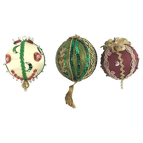 Hand-Made Push-Pin Ornaments