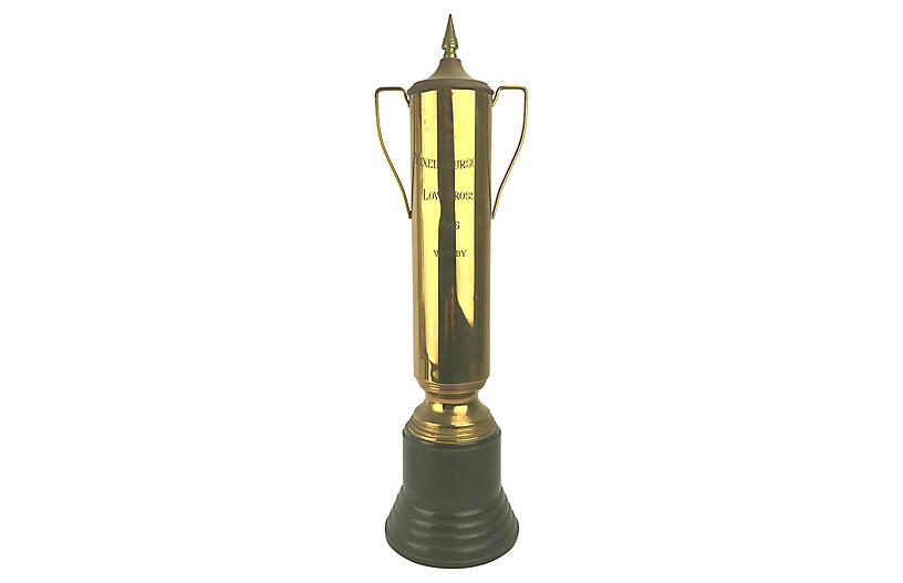 1946 Brass Golf Tourney Loving Cup
