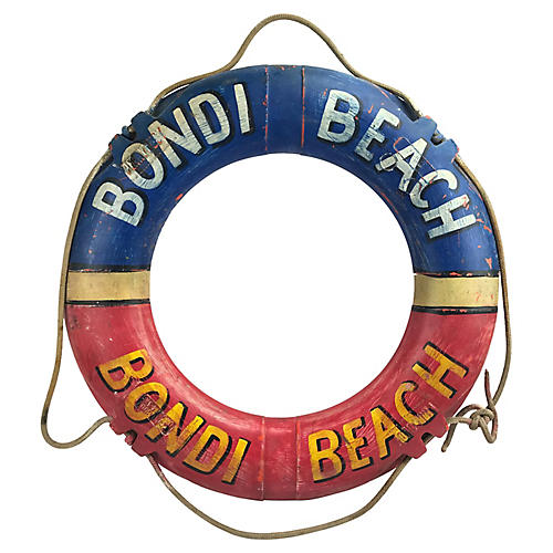 Australia's Bondi Beach Life Preserver