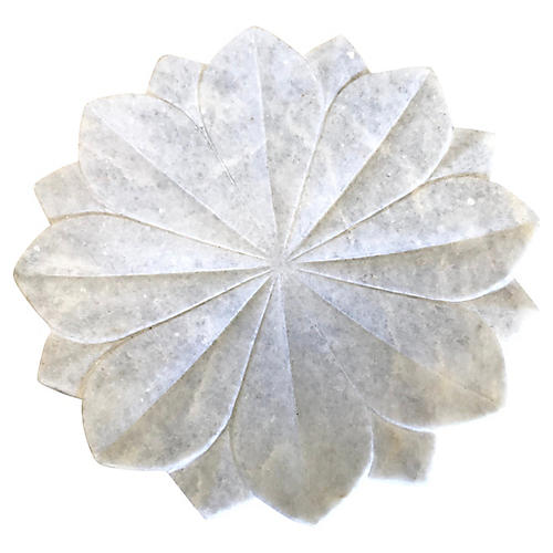 Marble Lotus Flower Catchall