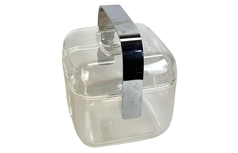 Fratelli Guzzini Lucite Ice Bucket
