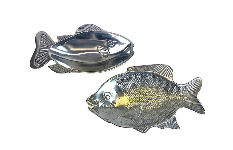 Fish Serving Dishes or Catchalls, Pr