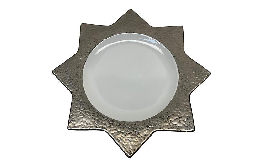 Italian Modernist Accent Plates, S/8