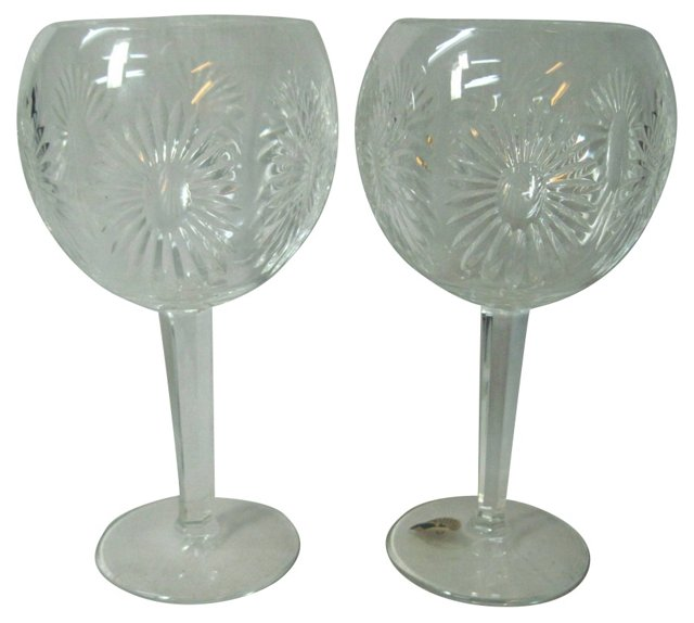 Waterford Toasting Goblets, Pair
