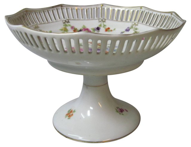 Dresden Floral Compote