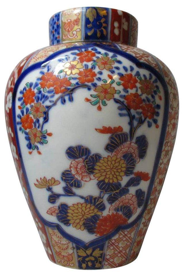 Antique Chinese Imari Tea Jar
