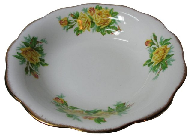 Royal Albert Yellow Rose Serving Bowl