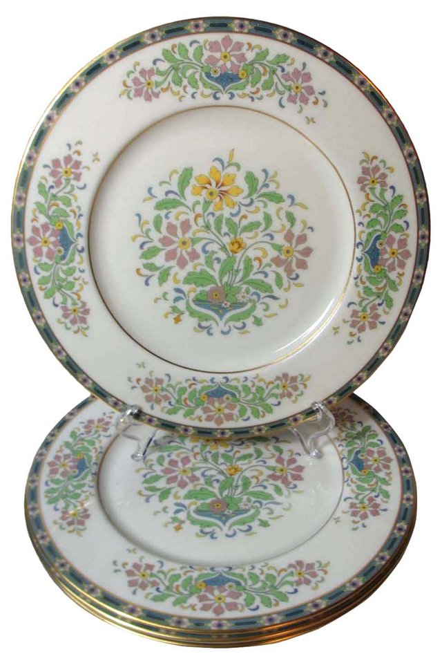 Lenox Spring Floral Dinner Plates, S/4