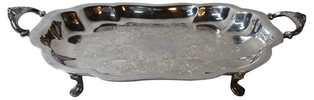 Wallace Footed Silverplate Server