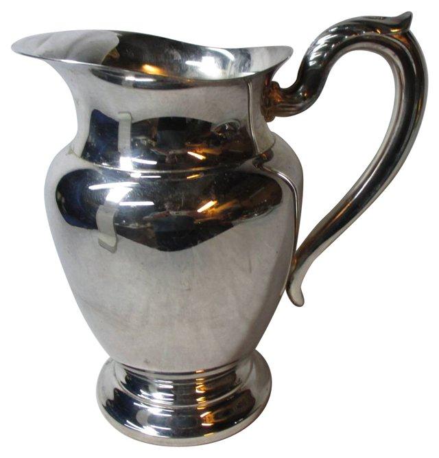 Silverplate Beverage Pitcher