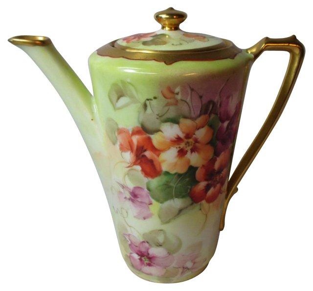 Pickard Hand-Painted Teapot