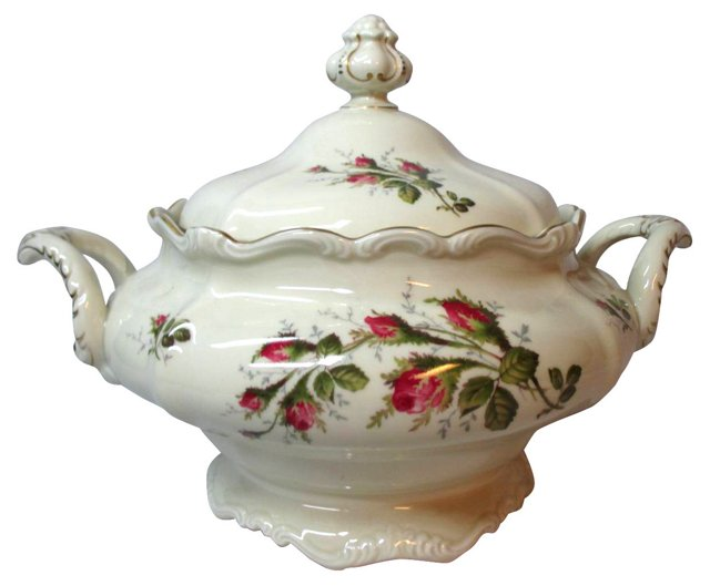 Rosenthal Roses  Soup Tureen